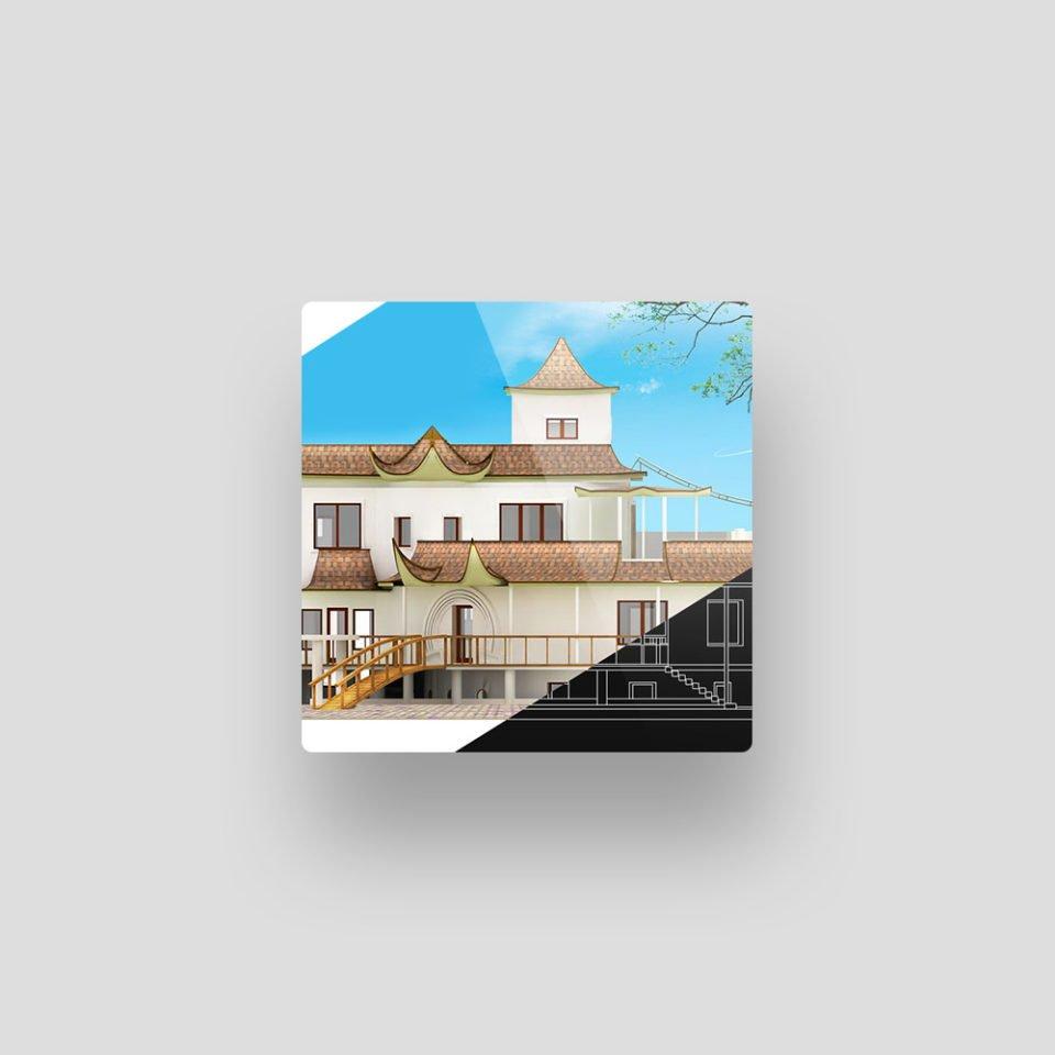 Лендинг «Пагода дом»